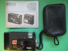 Rollei A26 Sonnar 3.5/40mm Kompakt Kasettenfilm 126 28x28 mm Manual Tasche OVP