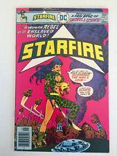 Starfire 1-8 Complete Set High Grade Set 1st app! 1976-1977 Dc Comics Bronze Age