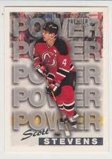 1994-95 O-Pee-Chee Premier #494 Scott Stevens New Jersey Devils PATP