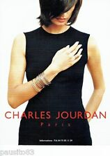 PUBLICITE ADVERTISING  116  1997   les bijoux joaillerie  Charles Jourdan