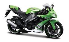 Maisto Kawasaki Zx-10r Ninja Green Motorcycle Model Scale 1 12