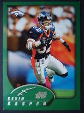 NFL 106 Kevin Casper Denver Broncos Topps 2002