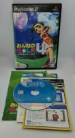 Everybody's Golf 4 Video Game for Sony PlayStation 2 PS2 NTSC-J JAPAN