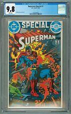 SUPERMAN SPECIAL #2 CGC 9.8 WP SUPERMAN BRAINIAC GIL KANE BONDAGE COVER & ART