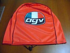 MOTORCYCLE HELMET BAG MICROFIBER AGV HELMET BAG CARRY HELMET DUFFLE RED ROSSI