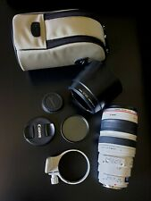 Used Canon EF 100 mm - 400 mm F/4.5-5.6 EF USM IS For Canon - White telephoto