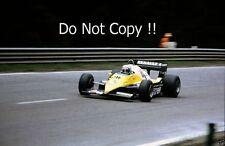 Alain Prost Renault RE40 Winner Belgian Grand Prix 1983 Photograph 2