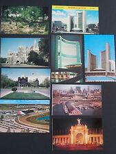 9 Vtg. Postcards TORONTO, Ontario CANADA