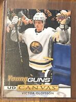 Victor Olofsson 2019-20 Upper Deck Series 1 Young Guns Canvas Rookie #C93 SABRES