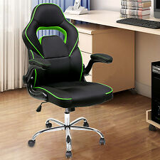 Merax Executive Office Gaming Chair High Back Mesh PU Leather Racing Chair Task