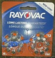 NEW Rayovac Size 312 Hearing Aid Battery - 16pk