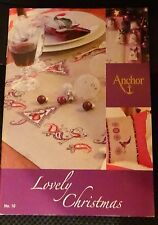 Anchor Nr. 10 Kreuzstickvorlagen Lovely Christmas Weihnachtsstickideen Sticken