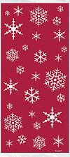 20 luccicante Albero Festa di Natale violoncello CELLOFANE DOLCE BAMBINI BOTTINO