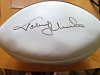 Johnny Unitas JSA Signed Autographed Football Baltimore Colts NFL HOF