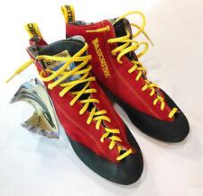 La Sportiva 954 Enduro Climbing Shoes, Sz: Eur 46, Usm 12+, Red w/ Yellow, New