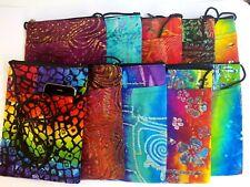 1 cross body walking party festival passport boho hippie gypsy lined rayon bag