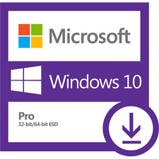 Microsoft Windows 10 Pro - 32/64 bit Original Aktivierungskey