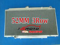 3ROW Aluminum Radiator For Nissan Patrol Y61 GU 2.8 3.0 4.2 Turbo Diesel RD28 MT