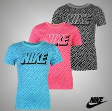 Nike Cotton Short Sleeve Graphic T-Shirts for Women