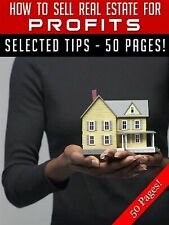 How to Sell Real Estate for Profits PDF Ebook MRR +10 Free Ebooks