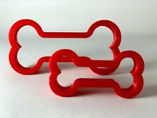 Bone Cookie Cutter Set, Play dough, Fondant, Pastry, Biscuit, Cutter, UK