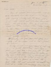 1925 radio letter re assembling early radio - antenna, coils, battery, condenser