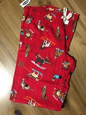 Old Navy Holiday Print Lounge Pajama Flannel Pants PJ Size S f56508f18