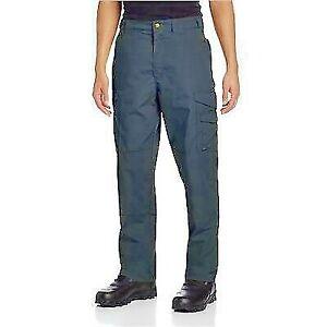 "Tru-Spec 24-7 XPEDITION Pants Rip Stop Navy  36 Inch Waist 32""Leg"