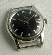 MEN'S VINTAGE AUTOMATIC CALENDAR CERTINA DS CAL KF 25-651  ALL STEEL CASE 36 MM