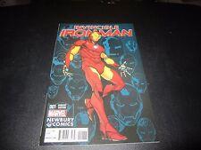 INVINCIBLE IRON MAN #1 RARE NEWBURY COMICS VARIANT !!!!