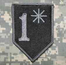 1* ONE ASS TO RISK ASTERISK ASSTERISK ARMY DARK OPS VELCRO® BRAND FASTENER PATCH