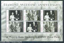 PALAU 2012 DIAMOND JUBILEE OF QUEEN ELIZABETH II SHEET OF SIX MINT NEVER HINGED