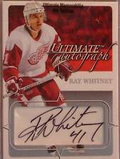 03-04 BAP-ITG ULTIMATE MEMORABILIA RAY WHITNEY 112/135