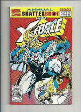 X-FORCE  #1. ANNUAL. NM (BOARDED & BAGGED) FREEPOST.