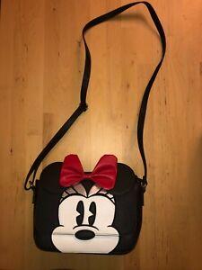 Sac Minnie Disney Park Bandouillère Neuf noir