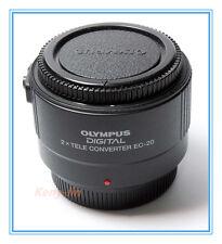 New Genuine OLYMPUS EC-20 Digital Tele Converter 2.0x Teleconverter EC20 4/3