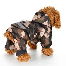 Dog Raincoat Puppy Rain Coat Hooded Reflective Waterproof Soft Dog Clothes