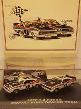 Moffat Bond Ford Falcon XC Coupe 1977 Bathurst 1-2 finish Biante 1:64 twin set