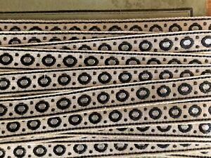 Rare Antique French Trim- Silk ribbon 200cm by 0.6cm