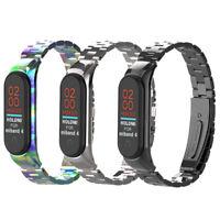2019 Metal Wrist Bracelet Stainless Steel Watch Band Strap For Xiaomi Mi Band 4