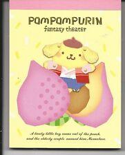 Sanrio Pom Pom Purin Fantasy Theatre Notepad