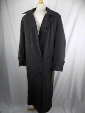 Delta Collection Airline Trench Coat Women's 6 Reg Black Thinsulate NEW NWT