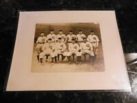 "1929 Chicago Cubs Team 14"" x 11"" George Burke Type I Photo PSA/DNA Full LOA"