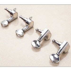 4X Tuning Pegs Machine Heads 2R 2L For 4 Strings Ukulele Guitar Bass Parts