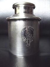 Rare Georgian guilloché métal argenté Charles CRISTOFLE boîte à thé XIXeme