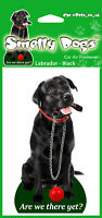 Labrador Black with Lead Fragrant Air Freshener - Perfect Gift