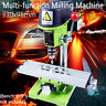 Multifunction Milling Machine 2Axis Cross Working Table Bench Drill Vise Fixture