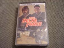 SEALED RARE OOP Delta Force CASSETTE TAPE soundtrack CHUCK NORRIS Alan Silvestri
