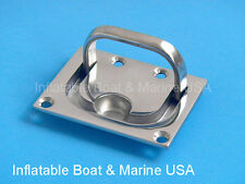 """Boat Hatch Locker Cabinet Lift / Pull Ring Handle -3"""" Marine 316 Stainless steel"""
