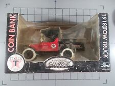 Gearbox 1/24 1918 Ford Runabout Tow Truck Texaco Bank